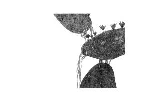 Descente aux enfers - 24x32 cm ---- ACHAT OEUVRE ORIGINALE : 360 € https://astridjo.com/contact/