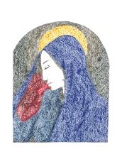 Maria – 30×15 cm —- ACHAT OEUVRE ORIGINALE – 50€ https://astridjo.com/contact/