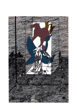 La cage 6 – 16×8 cm —- VENDUE