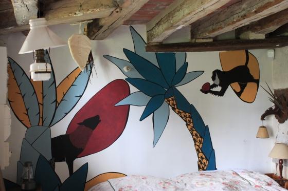 Fresque murale intérieure ---- TARIF HORAIRE - 25€ : https://astridjo.com/contact/