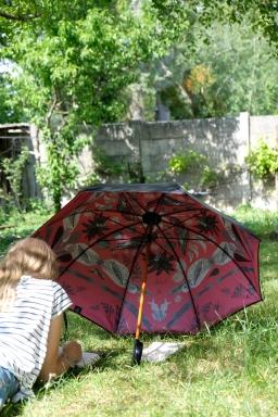 Création et réalisation de graphisme sur parapluie (vendu)